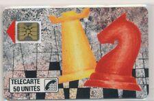 Télécarte Privée D134 neuve ECHECS ref TP64