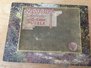 vintage victory arstistic wooden jigsaw puzzle ( off to the market )