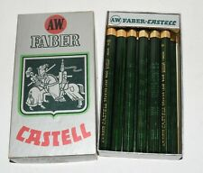Vintage FABER Castell Pencil Assorted Drawing Leads in Box 2H 5H 6H F HB