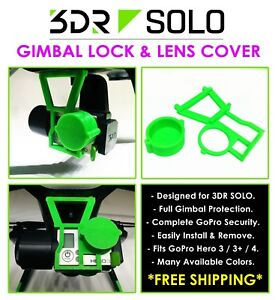 3DR SOLO 3-Axis Gimbal Lock & Lens Cover Protection Travel Drone Photography USA
