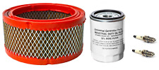 Generac Air Filter 0C8127, UGP Oil Filter for 070185E & Spark Plugs for 496018T