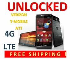 UNLOCKED Motorola Droid RAZR M XT907 Android 4G LTE Verizon, Tmobile, ATT, Ultra