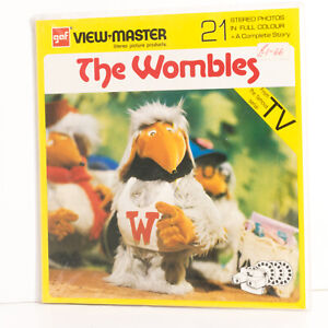 Sealed ex shop View Master reel set ND 131-E The Wombles