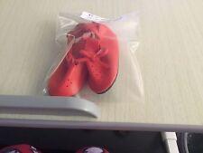 Red Buckle Doll Shoe 3 in. Long