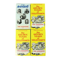Lot of 4 The Avengers VHS Tapes Game Girl Auntie False Witness Positive Negative