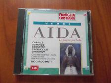 CD - GIUSEPPE VERDI - AIDA - FAMIGLIA CRISTIANA