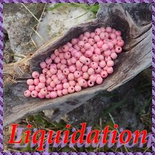 1000 Perles Bois 6 mm +/-