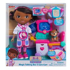 Doc McStuffins Magic Talking & Singing Doc & Care Cart Light up X-rays Bed Chart