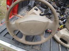 X1046 2001 buick steering coulmn 1999 centery tilt tan oem