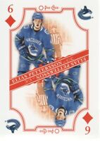 2019-20 O-Pee-Chee Hockey Playing Cards #6D Elias Pettersson