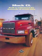 Mack CL Truck Prospekt brochure prospectus 2000 LKWs Nutzfahrzeuge Lkw Amerika