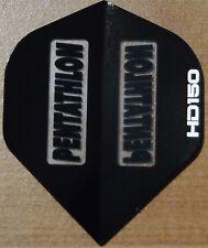 10 Sets Black Pentathlon HD 150 Micron Dart Flights.