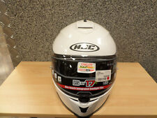 HJC Motorradhelm Integral Helm IS17 weiss glänzend; Gr. M