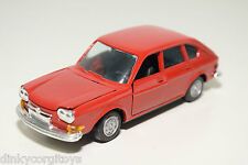 GAMA 1125 VW VOLKSWAGEN 411 RED VERY NEAR MINT CONDITION.
