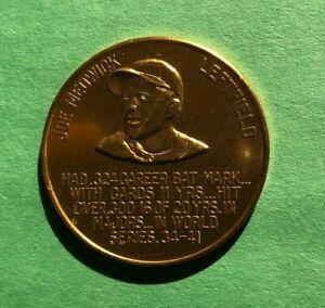 1966 St Louis Cardinals Busch Immortals Coin  JOE MEDWICK