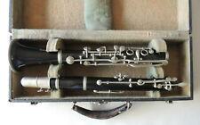 Triomphe Paris Clarinet Albert System B Low Pitch Nice Vintage Condition