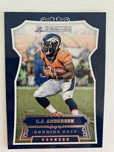 NFL Trading Cards 2016 Panini Football #28 C.J. Anderson Broncos