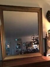 Miroir en bois et stuc doré de style 96 X 84cm