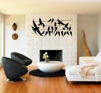 Metal Bird Decor, Metal Wall Art, Housewarming Gift, Interior Decoration