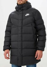 Nike NSW Down Fill WR Parka HD AO8915-010 Jacket Black Size XXL