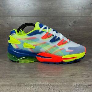 Puma Cell Alien OG Kaleidoscope Casual Sneakers Yellow Blue 371872-01 Men's 9.5