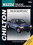 Chilton Books 46602 Repair Manual fits 1987-1993 Mazda B2200 B2600,MPV Navajo