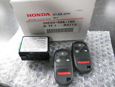 2002-2004 GENUINE HONDA CRV CR-V LX KEYLESS ENTRY TRANSMITTER REMOTE KIT