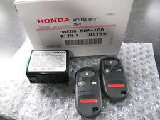 2002-2004 GENUINE HONDA CRV CR-V LX KEYLESS ENTRY TRANSMITTER REMOTE KIT