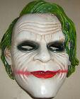 Joker Batman Dark Knight Movie Mask Resin Halloween High Quality MIB FREE S/H