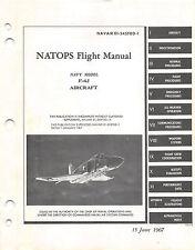 F-4J Phantom II (1967) natops Flight Manual Pilot's Handbook.....CD Version