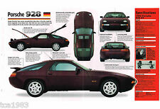 PORSCHE 928 FOLLETO/FOLLETO/CATALOG : 1992