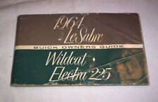 64  BUICK  LESABRE,  WILDCAT, ELECTRA  225  OWNERS  MANUAL  --Check This Out !--