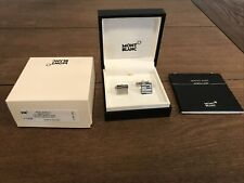 New Mont Blanc Montblanc Cufflinks 111316 Iconic Links Mistery Stainless Steel