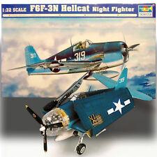 TRUMPETER 1/32 GRUMMAN F6F-3 HELLCAT NIGHT FIGHTER KIT