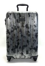 Tumi V3 Expandable Continental Carry-On Spinner Luggage Galvanized Silver
