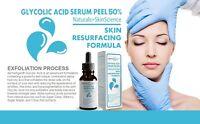 dermaXgen® ORGANIC Glycolic Acid 50%+Hyaluronic Acid+GreenTea+Arginine+Chamomile