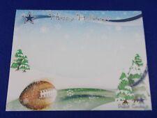 "NFL Holiday Cards Photo 4"" X 6"" insert Holidays Dallas Cowboys Christmas lot 5"