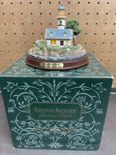 """Thomas Kinkade Seaside Memories Lighthouse """"A Light In The Storm"""" New in Box"""