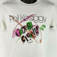 Phil Keaggy T Shirt Vintage 80s 1985 Getting Closer Christian Made In USA Medium