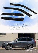 For Volvo XC-90 15-18 Window Visor Vent Sun Shade Rain Guard Door Visor