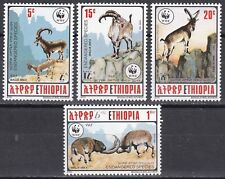 Ethiopie: 1990 espèces en voie de disparition, en Éthiopie/wwf, neuf sans charnière