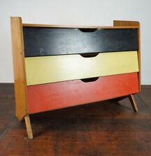 50er Vintage Sideboard Schuhregal Rockabilly Retro Schuhschrank Mid-Century