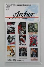 Archer 1/35 Polish Propaganda Posters WWII (3 sizes) (30 Posters) AR35388