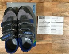 New In Box! SHIMANO SH-R120 Gray And Blue ROAD CYCLING Shoes Size 41