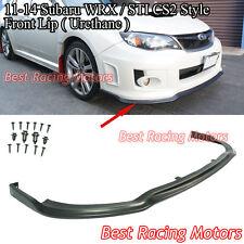 CS Type-2 Style Front Bumper Lip (Urethane) Fits 11-14 Subaru Impreza WRX STi