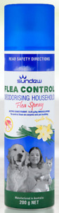 Flea Control Deodorising Household Spray 200g same active as Advantage