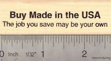 Buy Made in the USA Rubber Stamp, American Jobs D16004 WM