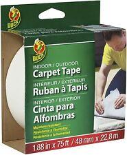 Duck Brand Indoor/Outdoor Fiberglass Double-Sided Carpet Tape: 1.88 in. x 75 ...