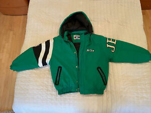 Brand New VTG 1990s New York Jets Starter Jacket Size L Classic Team Collection