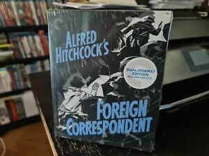 FOREIGN CORRESPONDENT (CRITERION COLLECTION 696 BLU RAY) STILL SEALED HITCHCOCK